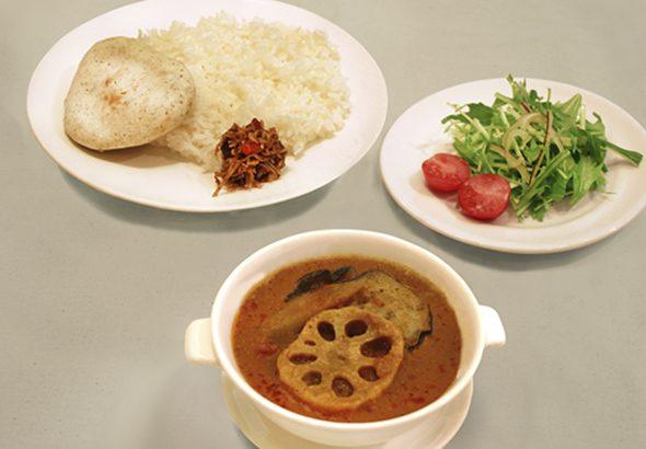 茄子と根菜のプーアール茶カレー イメージ