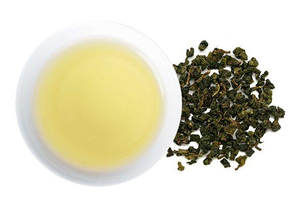 凍頂烏龍茶(トウチョウウーロンチャ)の水色