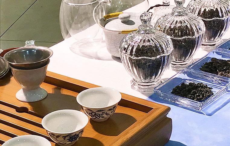 本格中国茶席体験会 イメージ
