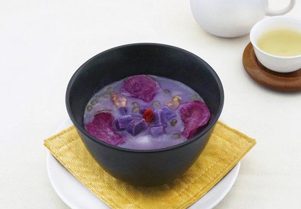 紫いものお汁粉 イメージ