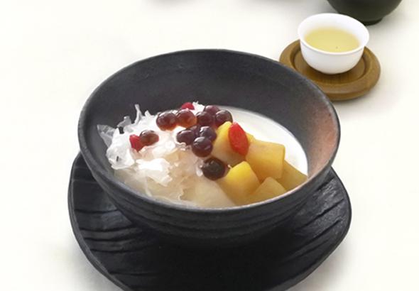 生姜風味の温豆花