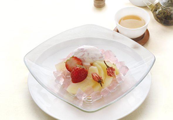桜香る春デザート