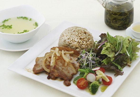 佐助豚の生姜焼きご飯 イメージ